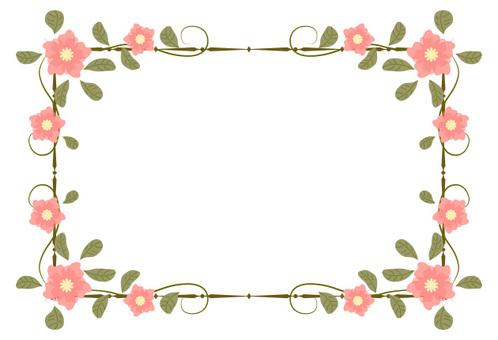 Flower frame 01