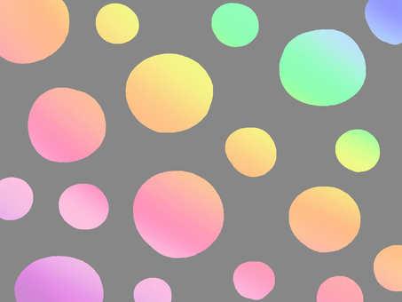 Rainbow 【wallpaper】 polka dots