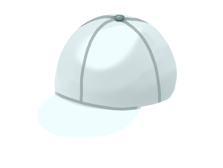 紅白帽(白)