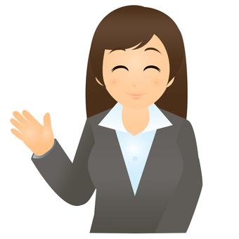 İş · Kadın - resepsiyonist