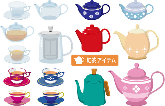 Tea item set