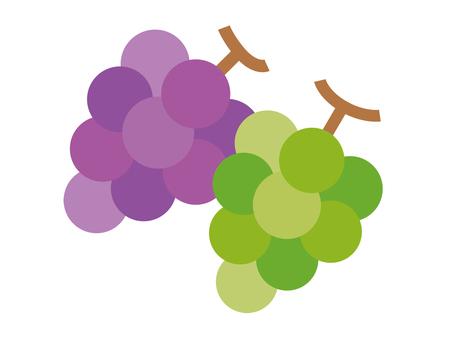 Grapes (2 types)