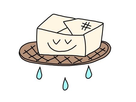Drain of tofu