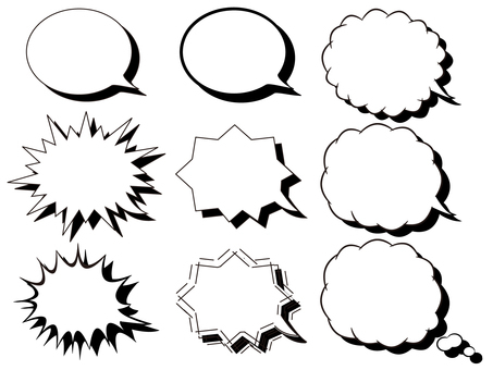 Speech bubble (with shadow)