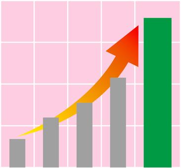 Graph _ rapid growth _ 02 _ green