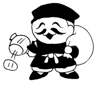 Daikokuten Black and White