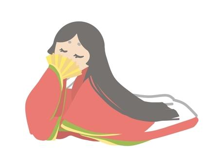 A woman in her twelfth figure