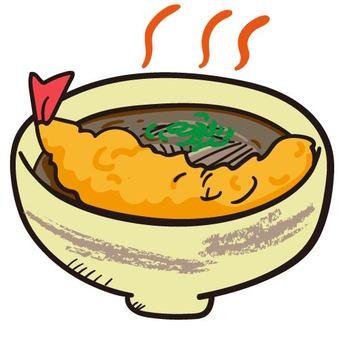 Eat soba