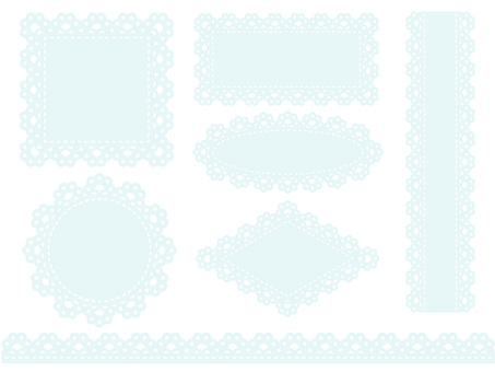 Race frame (light blue)