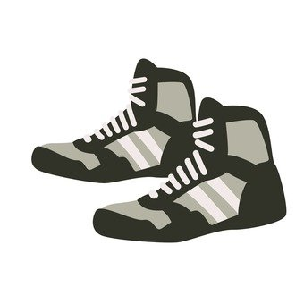 Wrestling shoes black