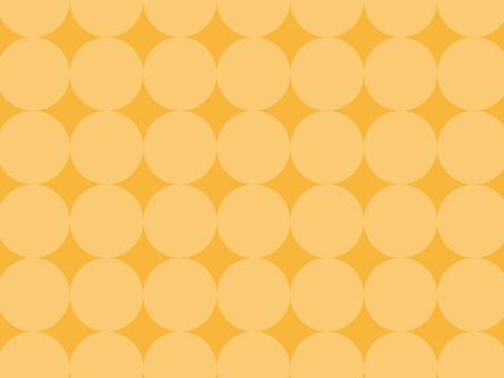 Texture Round Yellow 1