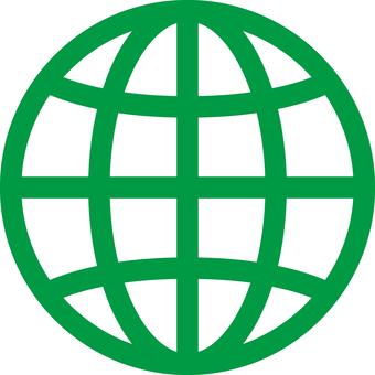 Earth _ Icon_ Green
