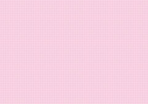 벽지 - 단순 격자 - 핑크