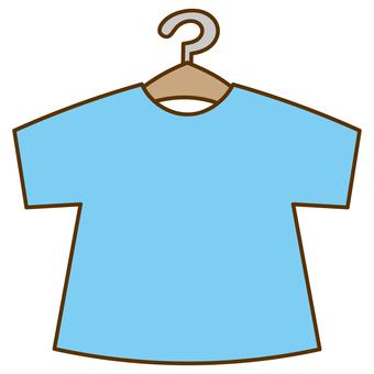 Short sleeve T-shirt with hanger