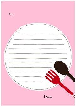 叉子和勺子文具