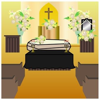 Christian style funeral