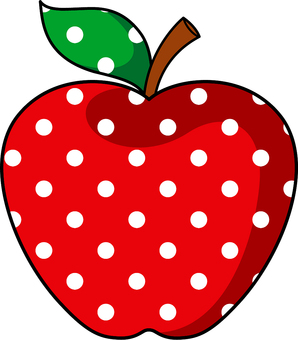 Dotted apple 2