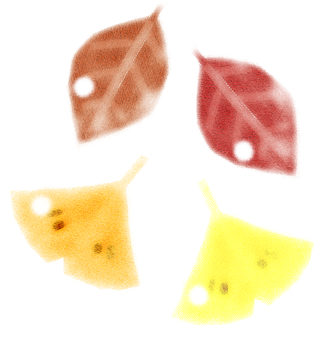 Autumn - fallen leaves
