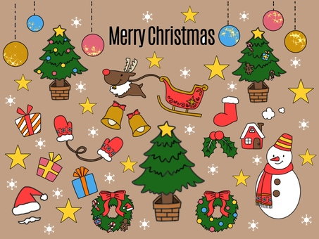 Christmas simple illustration