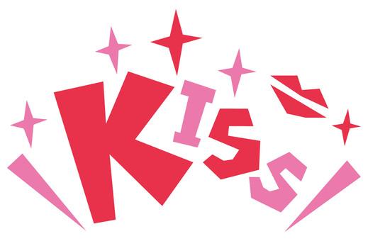 KISS ☆ Kiss ☆ POP logo