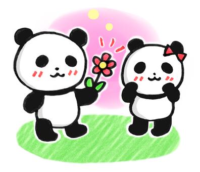 Have a flower panda 3
