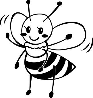Bee 03 - Black