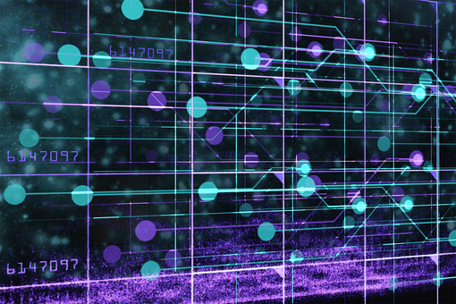 Futuristic electronic brain world digital area 2
