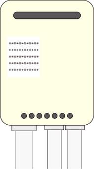 Water heater ivory / WaterHeater