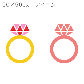 50 × 50px icon ring