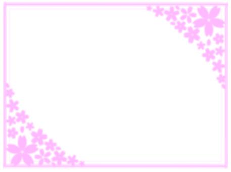 벚꽃 프레임 22