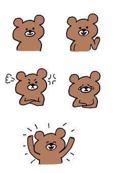 Bear's emotions