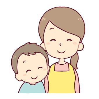엄마와 아이