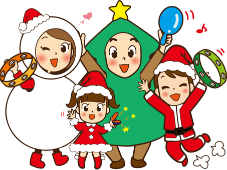 4 people family (Christmas 2)