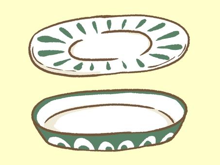Northern Europe tic dish