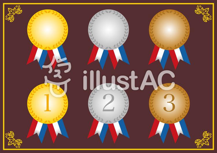 メダル01のイラスト