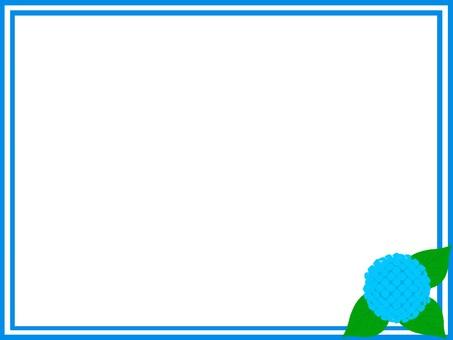 Hydrangea Frame 1