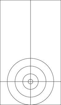 Curling House _ Line drawing