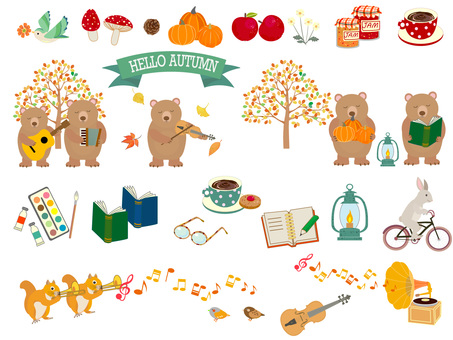 Autumn of art and autumn of appetite