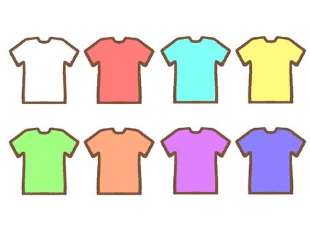 Simple t-shirt set