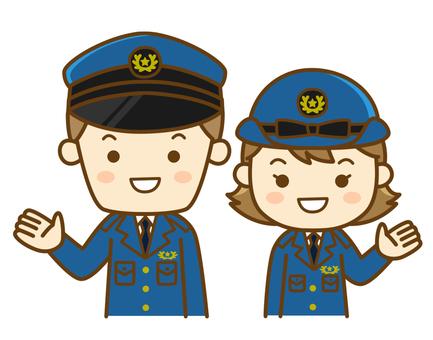 Guide officer