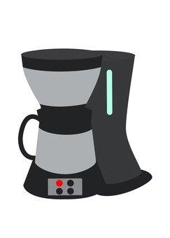 Coffee maker (black)