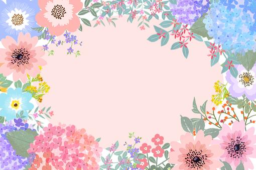 フレーム花