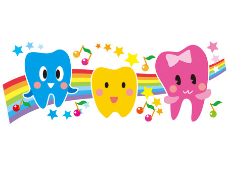 Cheerful teeth