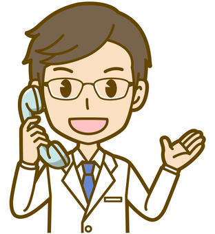 Male (doctor): A_ phone 02BS