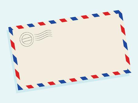 Airmail Frame Simple Beige