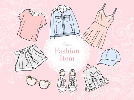 Spring fashion item 02_bg