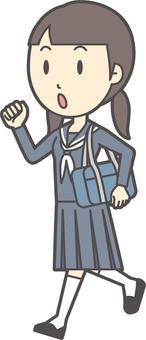 初中水手女人-282-全身