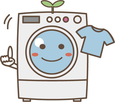 세탁기 캐릭터 3