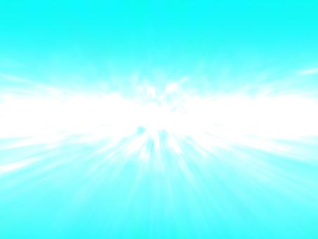 Blue skyish zoom 2 (horizon)