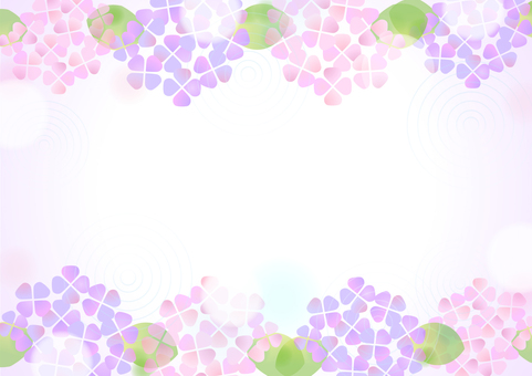 Pastel color hydrangea background 3